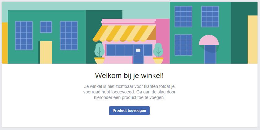 Facebook winkel